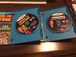 Wii U - Wheel of Fortune and Jeopardy