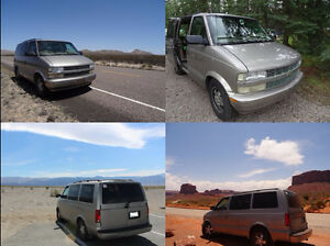 Chevrolet Astro équipé road trip – dispo mi-août