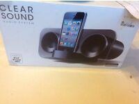 Sound audio system iPhone iPod mp3 £5