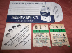 BEATLES MEMORABILIA (RARE ITEMS SERIOUS OFFERS ONLY)
