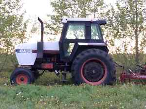 For Sale 2294 Case Tractor and Degelman Blade