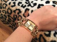 Guess gold watch/ montre or Guess
