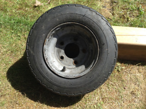 Wheel for a trailer
