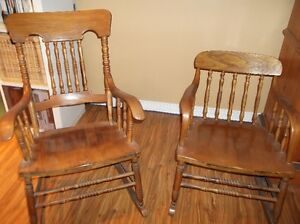 Antique matching rocking chairs