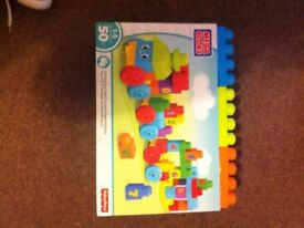 BNIB mega blocks train, collect Brownhills