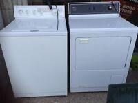 Kitchen Aid Washing Machine & Maytag gas dryer