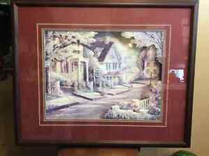 BEAUTIFUL FRAMED PICTURE FOR SALE
