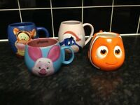 4 Disney Mugs