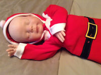Reborn Doll Ready for Christmas SOLD!