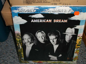 CROSBY, STILLS, NASH & YOUNG ALBUMS/CASSETTES/CD'S