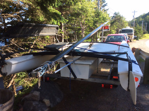 Complete Hobie 17 with trailer