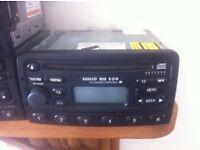 Ford radio, 6000cd , CD player for mondeo, focus, fiesta, transit