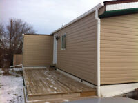 Newly renovated mobile home in Lashburn
