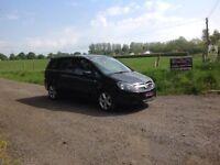 24/7 Trade sales NI Trade Prices for the public 2009 Vauxhall Zafira 1.8 SRI Black 7 Seater
