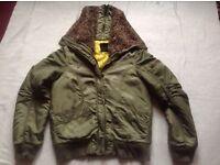 Cropp ladies jacket full zipper size: 12/14 used £3