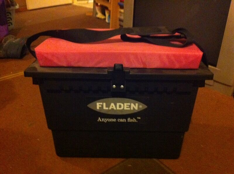 Pink fishing tackle seat box perfect gift in chatham for Pink fishing gear