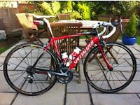 Specialized carbon road bike