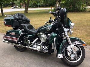1997 Harley Davidson Ultra Classic FLHT- in excellent condition