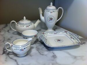 Wedgewood bone china tea and coffee service