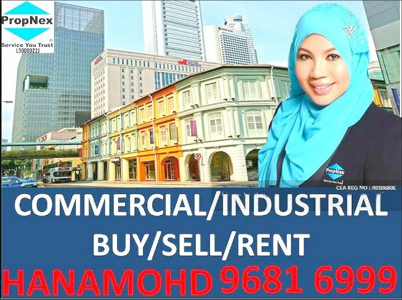 ⚡GREAT FRONTAGE⚡ARAB STREET CAFE SHOP F&B RESTAURANT SPACE FOR RENT