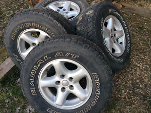 2003 jeep wheels and tires 15 inch