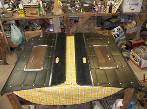 1964 Mercury Park Lane convertible black interior door panels