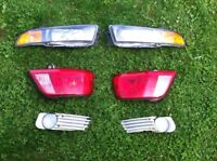 Headlights, Tail-lights, Foglights for 2003 Mitsubishi Galant