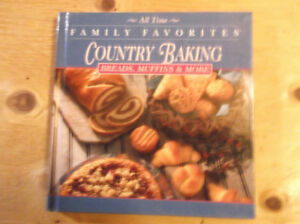 Country Baking cook book