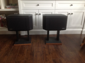 Pair of Bose 301 loudspeakers. Series lV