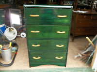 Four drawers dresser