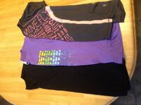Ivivva and triple flip t-shirts