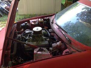 Triumph TR7 V8 conversion TR8 parts MG MGB Rover 3.5L Buick 215