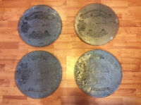 "Antique Regina 15.5"" Music Box Disc Set (42 inc'd)"