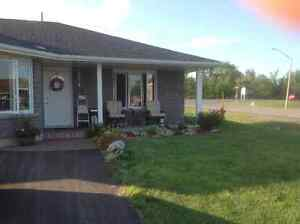 Newly built house for rent in beautiful Iroquois by St.Lawrence