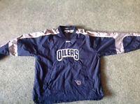 OILERS ....SWEATER...by CCM... Authentic NHL WEAR