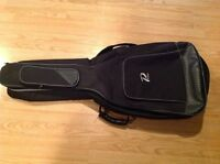Soft shell acoustic guitar case