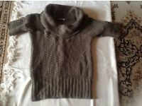 Promod ladies top light wool size: L used £2
