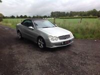 24/7 Trade sales NI Trade Prices for the public 2004 Mercedes CLK 240 Avantgarde Auto Convertible