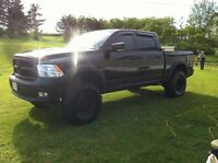 2009 dodge ram lifted and loaded