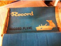 Record Plane For Sale