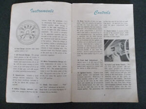 1950 Ford glove box owner's manual London Ontario image 2