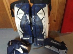 Set of Reebok Goalie Gear