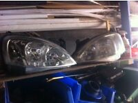corsa c front lights