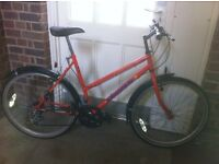 "LADIES 19""INCH FRAME TOWNSEND DESTINY MOUNTAIN BIKE £60.00"