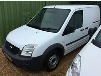 FORD TRANSIT CONNECT T200 LR low miles, White, Manual, Diesel, 2010