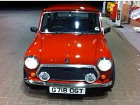 RED MINI MAYFAIR LOW MILAGE