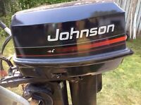 30 hp Johnson Outboard