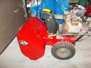 """Noma Snow Blower 10 hp 28"""" ready for winter $275."""