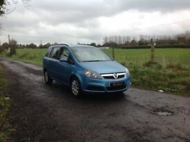24/7 Trade sales NI Trade Prices for the public 2006 Vauxhall Zafira 1.6 Club 7 Seater motd March 18