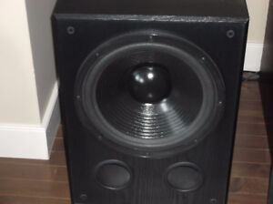 Abstract acoustics subwoofer